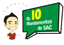 Os 10 mandamentos do SAC