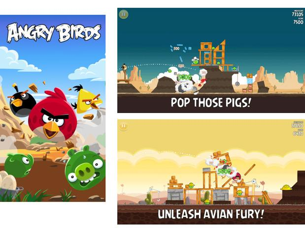 Screenshot Angry Birds for iPhone